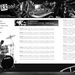 Эскиз сайта студии звукозаписи